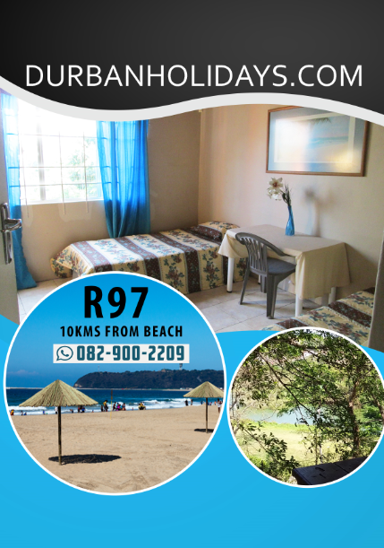 Durban Holiday Accommodation Godsolve